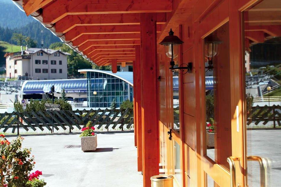 Hotel Andalo - Ingresso struttura