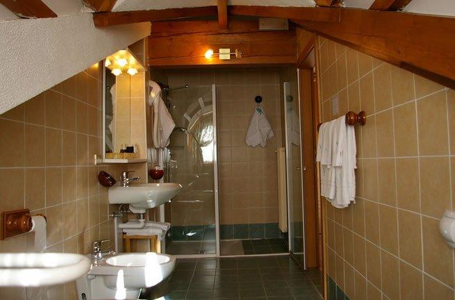 Hotel Dal Bon - Bagno in camera